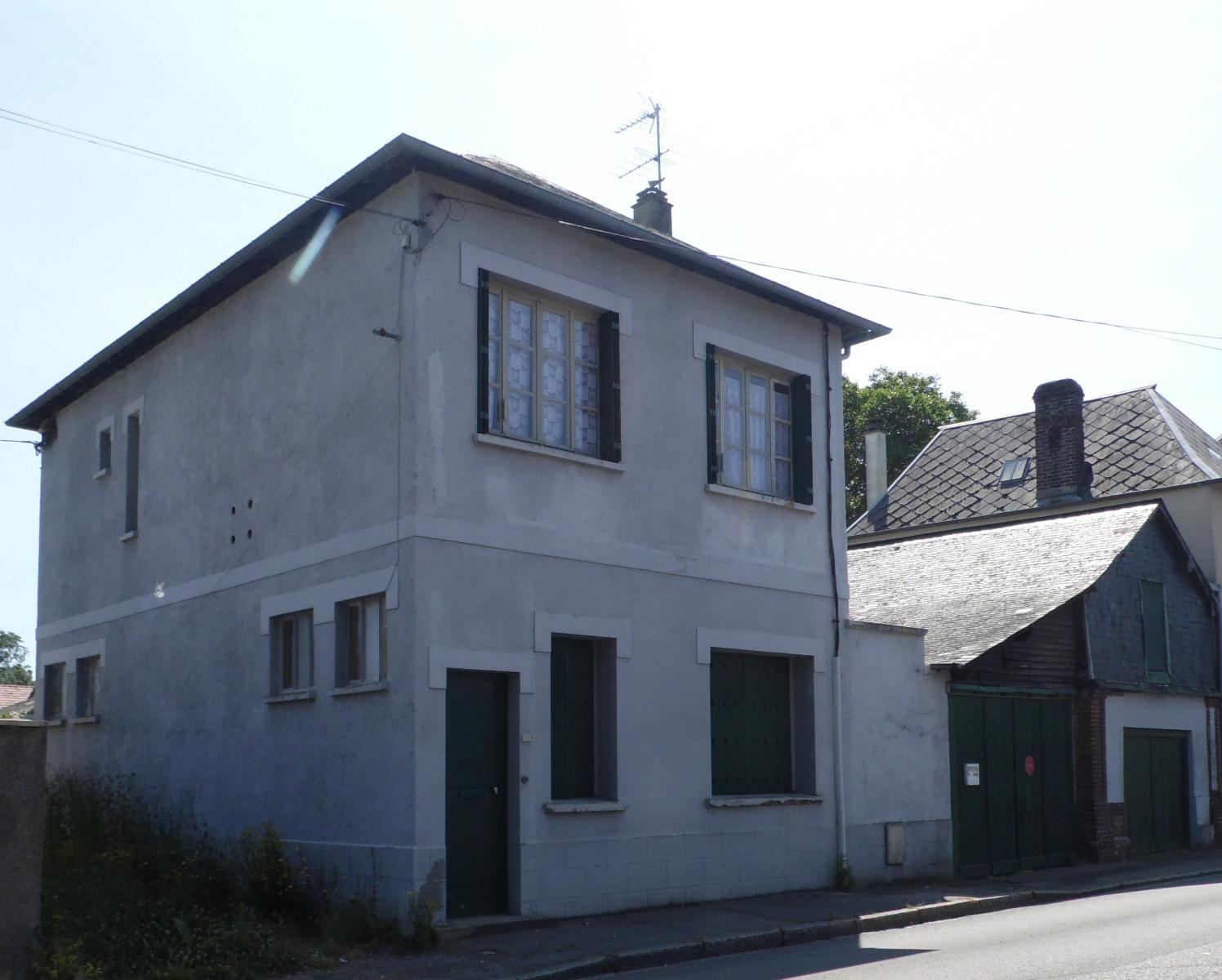 Vente maison appartement bourg achard 27310 sur le for Vente maison appartement
