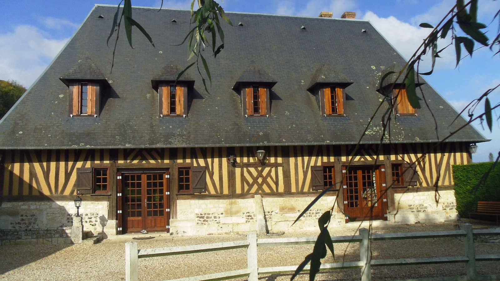 vente maison normande vue seine
