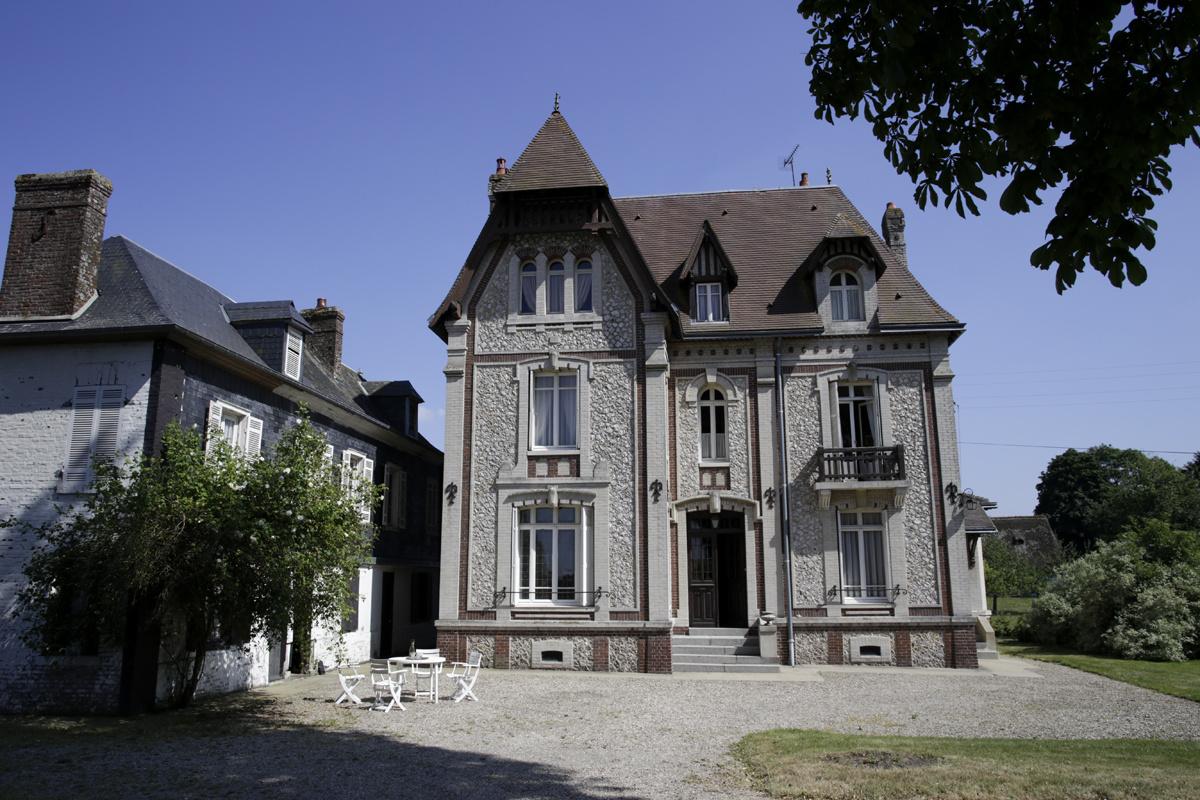 vente propriété corps de ferme Pont-Audemer Normandie